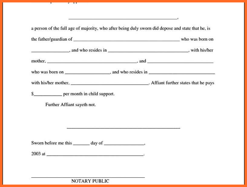 child support agreement template free download Akba.katadhin.co
