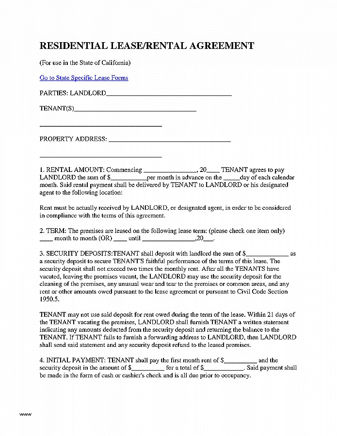 fake rental agreement lease agreement unique residential lease or