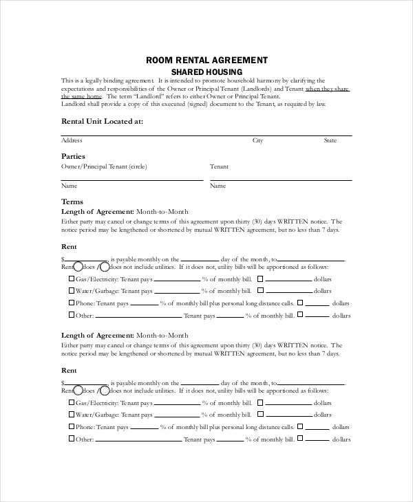 Basic Rental Agreement – 10+ Free Word, PDF Documents Download