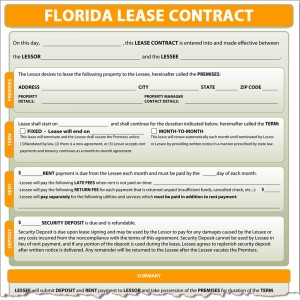 Florida Lease Contract
