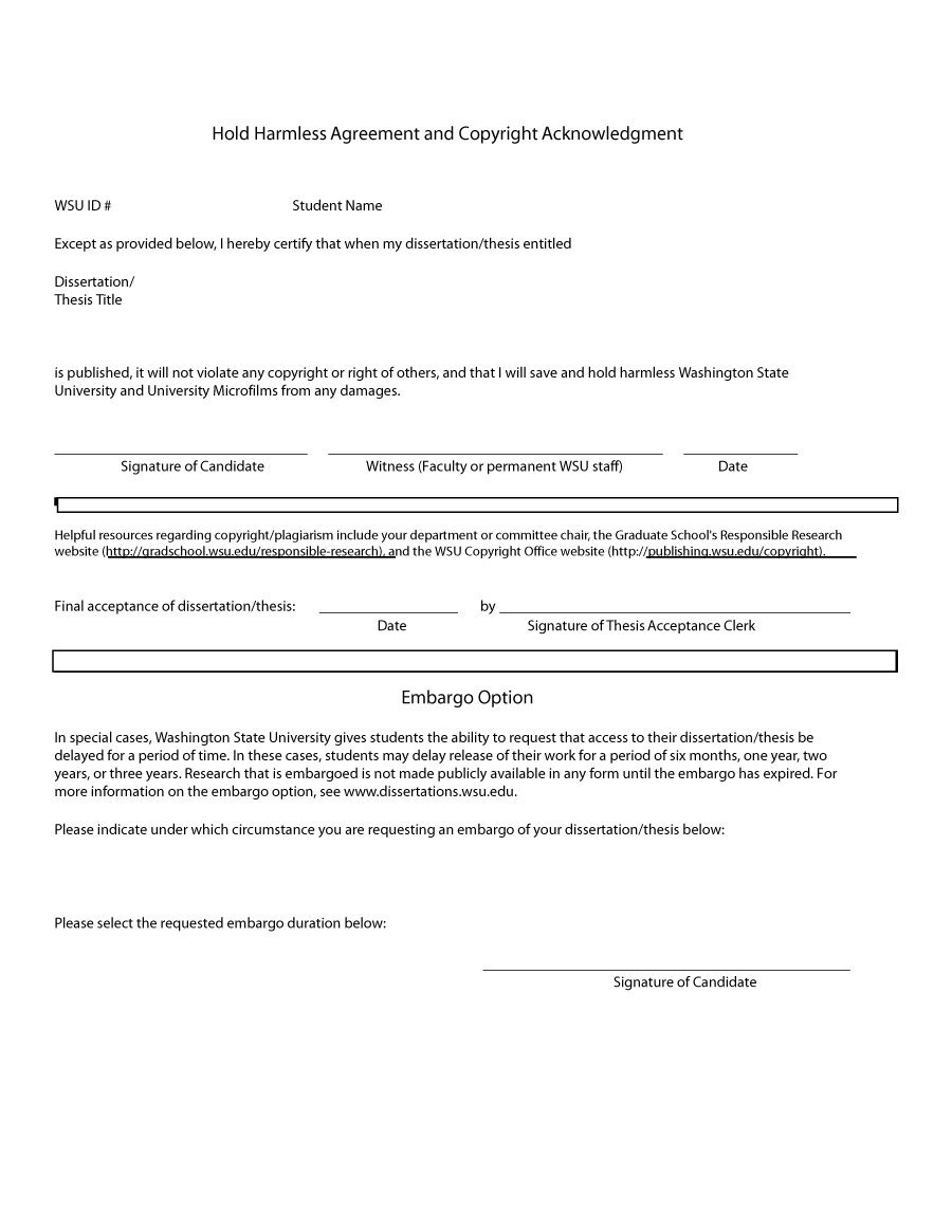 hold harmless agreement template Akba.katadhin.co