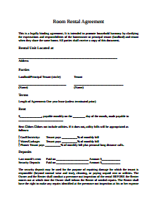 Room Lease Agreement Samples 9+ Free Documents in Word, PDF