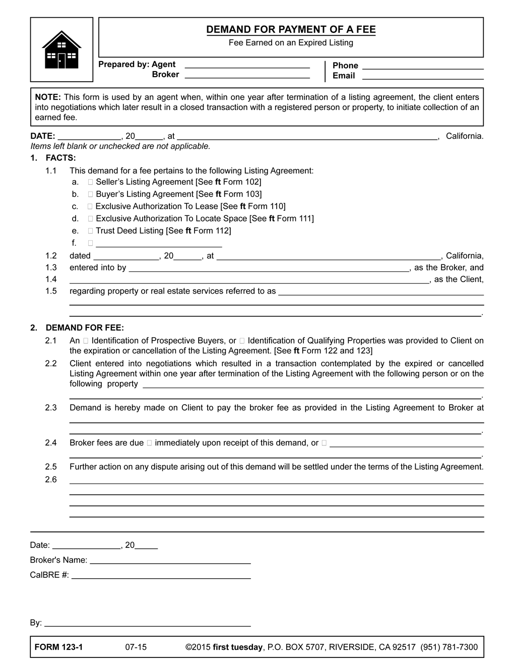 Listing Agreement Form Gtld World Congress