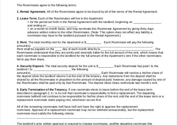 living agreement contract template living agreement contract