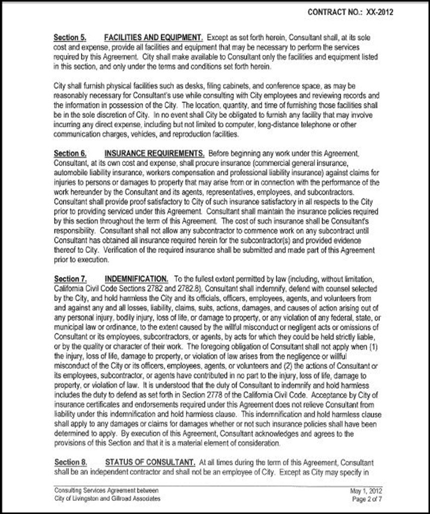 Contractor Agreement Template – 18+ Free Word, PDF Document