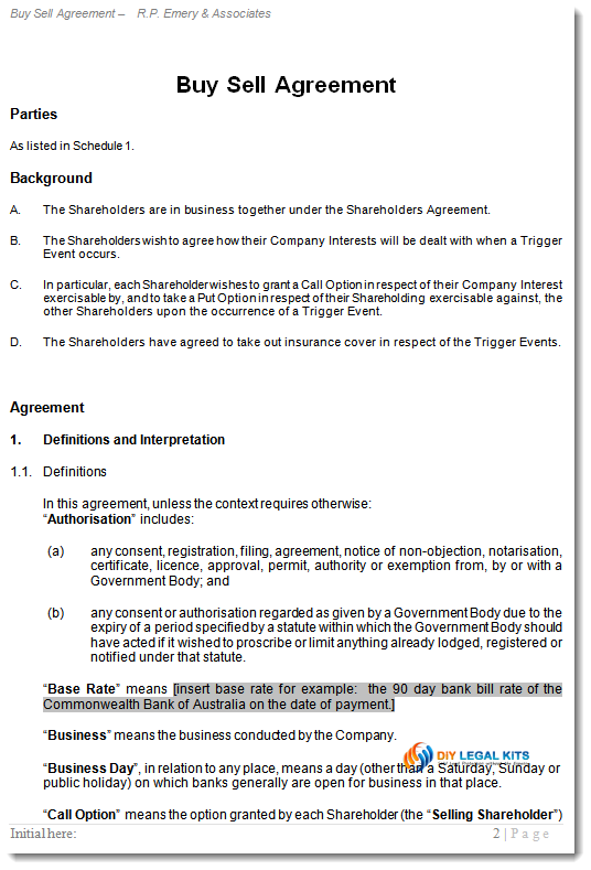 business partner buyout agreement template uk buy sell agreement