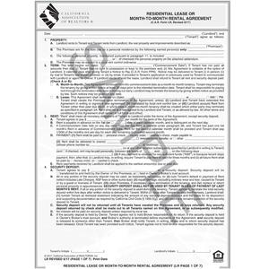 Month To Month Lease Agreement Template Free emsec.info