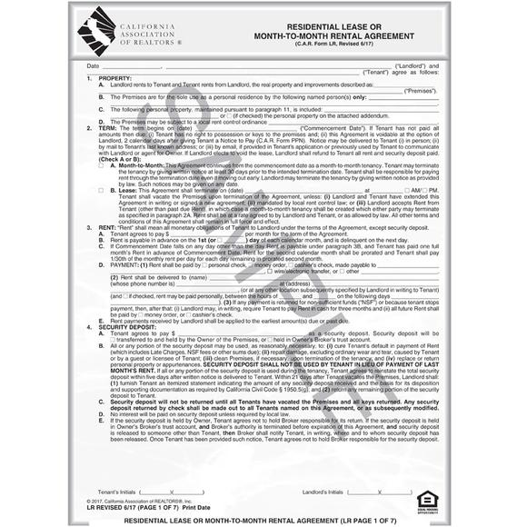 Free Florida Month to Month Rental Agreement Template Word | PDF