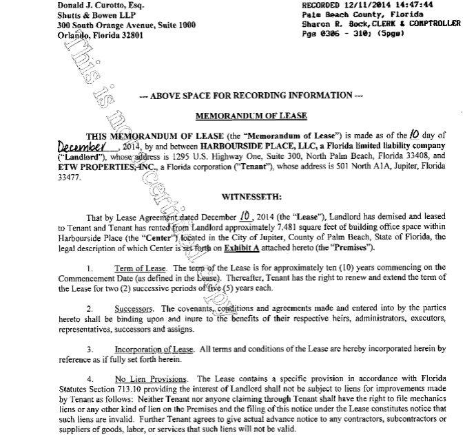 Memorandum Of Lease Agreement Design Templates