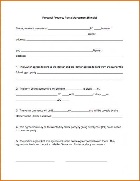 simple residential lease agreement template simple residential