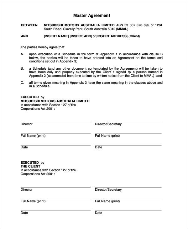free auto lease agreement template sample car lease agreement
