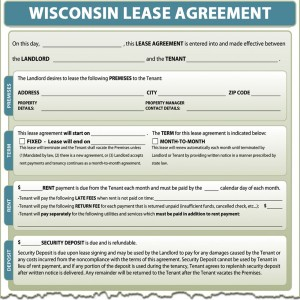 Wisconsin Lease Agreement